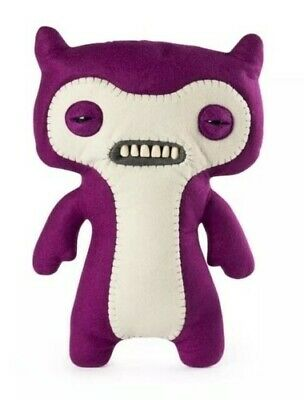 $ CDN16.49 • Buy FUGGLER  Funny Ugly Monster  LIL DEMON Plush Creature W/Teeth -Purple- NEW