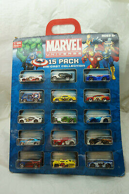$ CDN36.29 • Buy Maisto Toy Cars Marvel Universe 15 Pack Diecast Collection 2010 New Leadfoot
