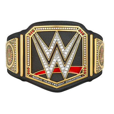 $209.99 • Buy Official WWE Authentic  Championship Kids Replica Title Belt (2014) Gold/Black
