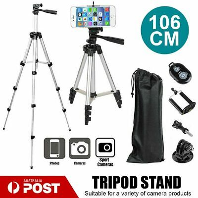 AU38.92 • Buy Professional Camera Tripod Stand Mount For Samsung 7 IPhone 106 CM Phone Holder