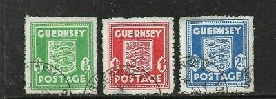Guernsey (German Occupation) 1941 Set Used • 0.99£