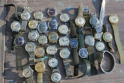 $ CDN144.28 • Buy LOT (30) Vintage Timex Mens Watches Automatic & Manual - Repair Resale Fix -