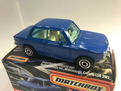 $3 • Buy Matchbox Power Grabs - '69 BMW 2002 Navy Blue - SEALED In Box