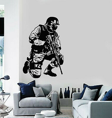 $69.99 • Buy Vinyl Wall Decal Special Forces Warrior Military Army War Stickers (g2460)