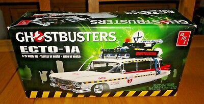 Ghostbusters Ecto-1A 1/25 Model Kit - Contents Still In Packaging • 39.99£