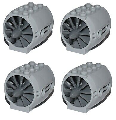 £6.17 • Buy LEGO Technic / City Jet Engine X4 With Blades Rotors For Aircraft Plane *