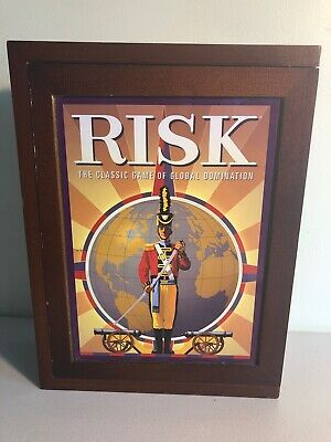 $12 • Buy Risk Board Game Vintage Collection Wooden Book Box Hasbro Special Edition 2012