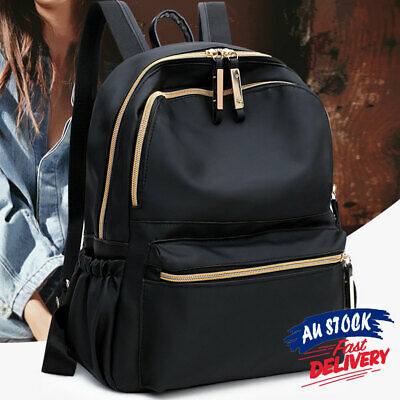 AU20.96 • Buy Casual Travel Backpack Anti-theft Women Backpack Oxford Cloth Schoolbag Outdoor