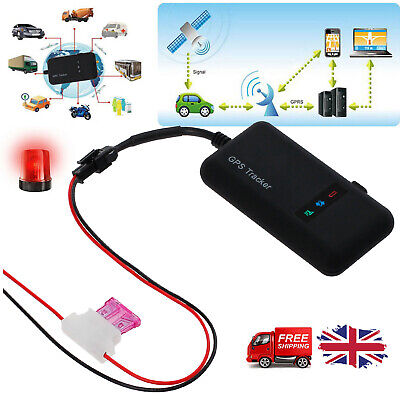 GPS GPRS GSM Tracker Realtime Spy Tracking Device For Car Vehicle Motorcycle UK • 12.99£
