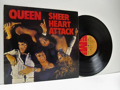 QUEEN Sheer Heart Attack LP EX/VG+, EMC 3061, Vinyl, Album, With The Lyric Inner • 34.08£