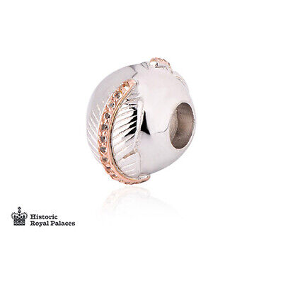 Clogau Silver & Rose Gold Falcon Feather Milestones Bead Charm £130 OFF!  • 49£
