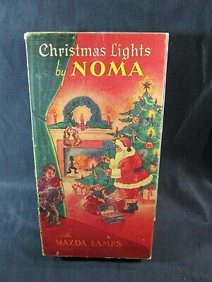 $ CDN54.48 • Buy  Vintage Christmas Lights By NOMA Mazda Lamps # 3010 W/box Tested .
