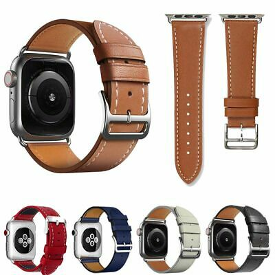 $ CDN11.99 • Buy Leather Replacement Band Strap For Apple Watch Series 1 / 2 / 3 / 4 / 5