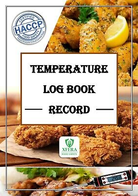 £15 • Buy Temperature Log Book Record I Temperature Log Book For Food Hygiene And Safety