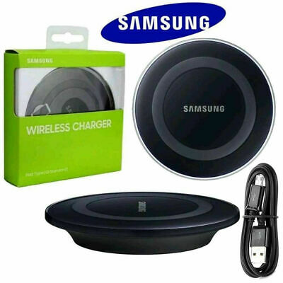 $ CDN18.28 • Buy QI Wireless Charger Pad Dock Plate For Samsung Galaxy S6 S7 S8 Edge BLACK A60