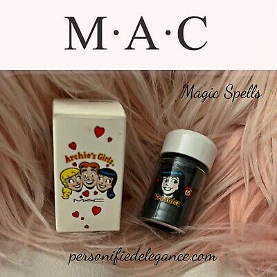 $40 • Buy NEW M·A·C Archie's Girls Magic Spells Limited Edition Pigment RARE