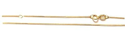 Genuine 9ct Gold 18 Inch Trace Chain With Adjustable Loop. • 28.99£