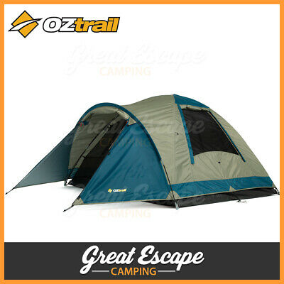 AU79.90 • Buy OZtrail Tasman 3V Tent  - 3 Person Camping Tent Dome