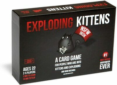 AU52.34 • Buy Exploding Kittens NSFW Edition Party Card Game 2-5 Players 15 Minutes Playtime
