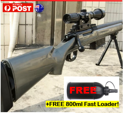 AU114 • Buy GJ M24 Gel Blaster Manual Bolt Action Mag-fed Water Toy Sniper Toy Gun AU Stock