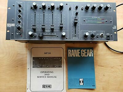 Rane MP24 DJ Mixer (1986 Original First Production, Excellent To Mint Condition) • 713.83£