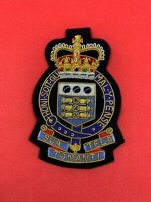 £15.99 • Buy Royal Army Ordnance Corps Blazer Badge Handmade With Bullion And Wire