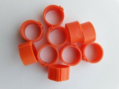 10 X 16mm Poultry Clip Leg Rings For Chicken, Pigeon, Pheasant, Chicks Etc • 1.80£