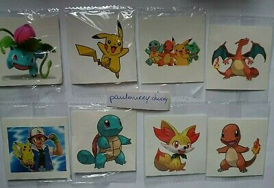 £2.64 • Buy 10 X Pikachu Temporary Tattoos Kids Birthday Party Bag Fillers #Sticker  #Game