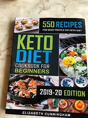 $2.70 • Buy Keto Diet Cookbook For Beginners NEW 550 Recipes For Busy People On Keto 2019-20