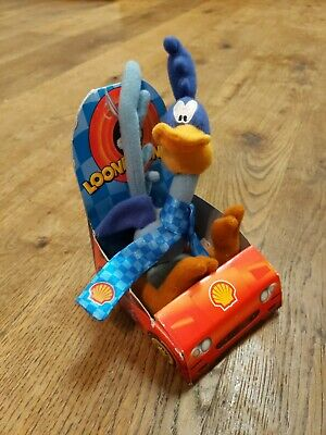 Vintage Shell Oil Promotion Looney Tunes Plush Toy Road Runner Very Rare O1 • 45.99£