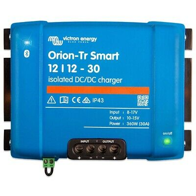 AU368 • Buy Victron Energy Orion-Tr Smart 12/12-30A (360W) Isolated DC-DC Charger