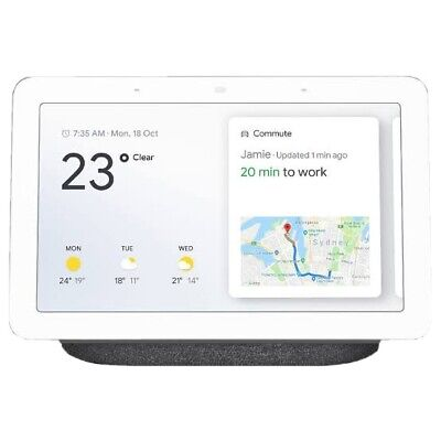 AU83 • Buy Google Home Nest Hub Chalk - Only Used Once