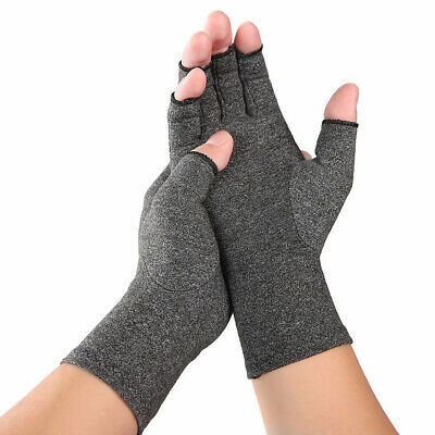 $6.94 • Buy Compression Gloves Women Open-Finger Computer Typing Indoor Mittens Guard