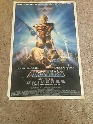 $50 • Buy Vintage Masters Of The Universe Movie 1987 Poster From Cannon Films   41  By 27