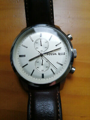 View Details Fossil Mens Watch Oversized Face 48mm Superb Condition • 40.00£