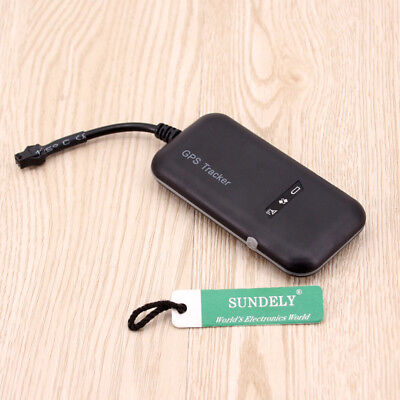 Mini Car GPS GPRS Tracker Vehicle Spy GSM Real Time Tracking Locator Device • 16.29£