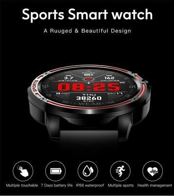 AU45.87 • Buy Smart Watch L8 Heart Rate Blood Pressure Blood Oxygen Monitoring ECG+PPG IP68