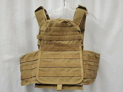 $399.99 • Buy Paraclete MSA SOHPC-L Plate Carrier Large Coyote Brown USMC CSAG SEAL NSW R12A