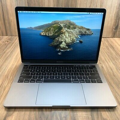 "$1187.50 • Buy Apple MacBook Pro 2019 Space Gray 13"" Touch Bar 256GB SSD 8GB RAM 2.4GHz Tested"