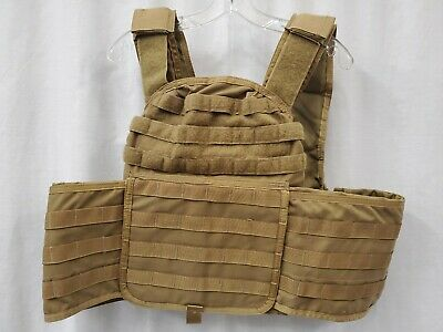 $399.99 • Buy Paraclete MSA Coyote Brown SOHPC-EL Extra Large Plate Carrier USMC SOF CAG R12A