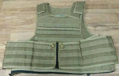 $399.99 • Buy Paraclete MSA Coyote Brown MTV0037-LG Large Plate Carrier USMC NSW R13A