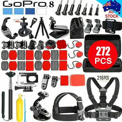 AU34.69 • Buy  Accessories Pack Case Chest Head Floating Monopod GoPro Hero 8 7 6 5 4 3+2