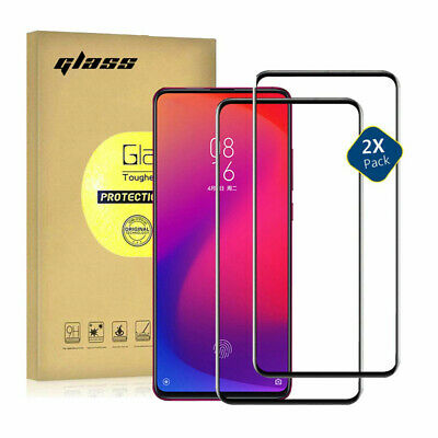 AU6.92 • Buy 2Pcs X Tempered Glass Screen Protector For Xiaomi A3 9T Redmi Note 9S 8T 8 Pro 7