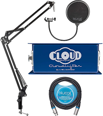 $245.51 • Buy Cloud Microphones CL-1 Cloudlifter 1 Channel Microphone Activator For Dynamic,