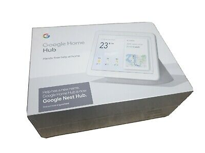 AU140 • Buy Google Nest Hub Chalk - Brand New In Box
