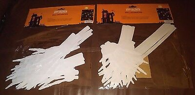 $ CDN8.77 • Buy White Skeleton Hands Halloween Wall Decorations - Set Of 28