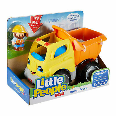 Little People Dump Truck Toy Playset With Action Figure Fisher Price BRAND NEW • 12.99£