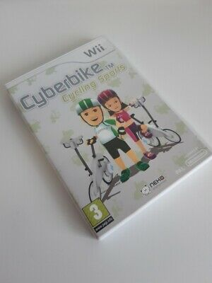 Nintendo Wii Cyberbike Cycling Sports Game By Neko Entertainment Age 3+ • 5.99£