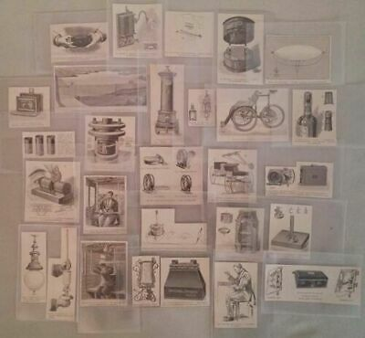 Lot 27 Old Newspaper Scraps Inventions Electricity Cameras Lamp Tricycle Dam • 27£