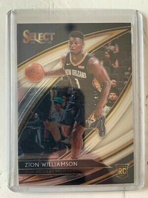 $350 • Buy  Zion Williamson 2019-20 Panini Select RC Rookie Courtside #297 Brand New!